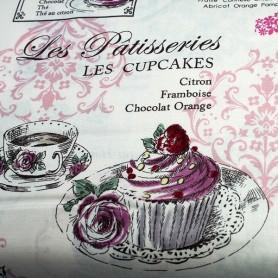 tela-patchwork-cocina-les-patisseries-cupcakes 3