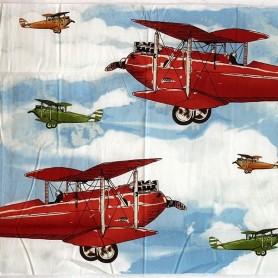 Panel patchwork Aeroplano