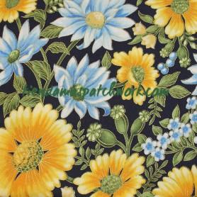 Tela patchwork Japonesa Flores Celebration