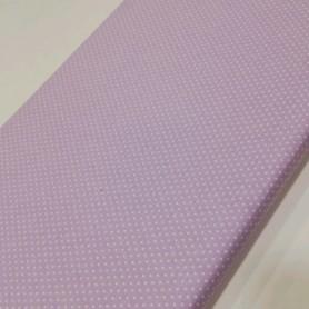 Tela patchwork estampada mini topo fondo lila violeta 2