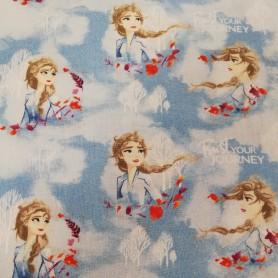 Tela patchwork Disney película  Frozen Elsa