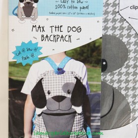 Kit Patchwork Mochila Infantil Perro- Max the dog backpack 3