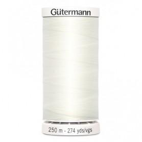 Hilo GUTTERMAN coselotodo 250m 111 marfil