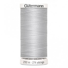 Hilo GUTTERMAN coselotodo 250m 008 gris perla