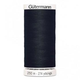 Hilo GUTTERMAN coselotodo 250m 000 negro
