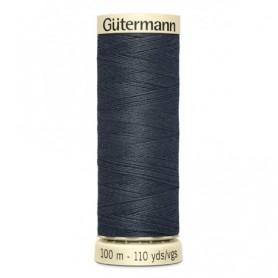 Hilo GUTTERMAN 100m 95 azul oscuro