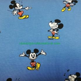TELA JERSEY punto elástico Michey Mouse Disney 2