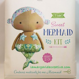 Kit patchwork Tilda Sweet Mermaid Sirena