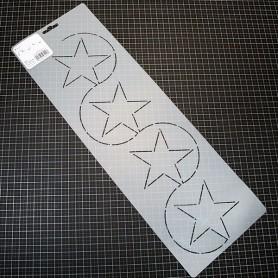 PLANTILLA PATCHWORK ACOLCHADO BORDES STAR BORDER FC2 5'' 12'7CM