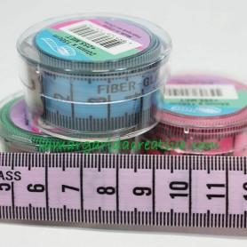 Cinta métrica centímetros y pulgadas colores lamargaridacreativa