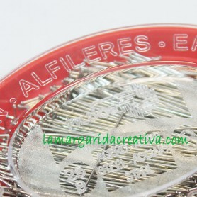 Alfileres Acero 0,60x34mm Fildor