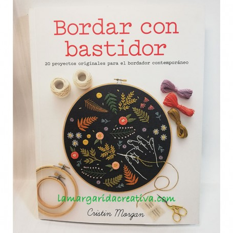 Foto libro bordar con bastidor lamargaridacreativa 2