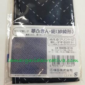 Tela sashiko premarcada y precortada II patchwork y bordado