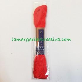 Hilo sashiko japonés rojo 2