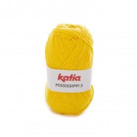 algodón katia mississippi amarillo lamargaridacreativa 2