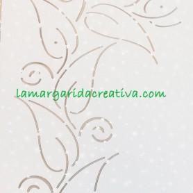 "Plantilla patchwork acolchado hawaiian holiday 3"" 7.6cm lamargaridacreativa"