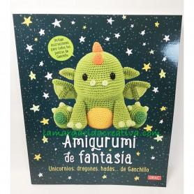 Libro amigurumi de fantasia ganchillo crochet lamargaridacreativa