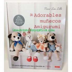 Libro ganchillo adorables mñecos amigurumi lamargaridacreativa.com