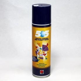 Spray adhesivo temporal tela y papel