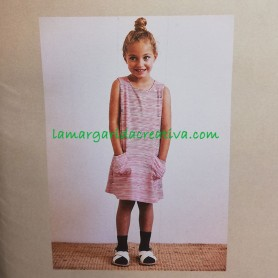 Patrón costura Vestido y camiseta niña