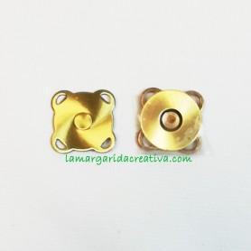 Cierre iman para coser 16mm lamargaridacreativa.com