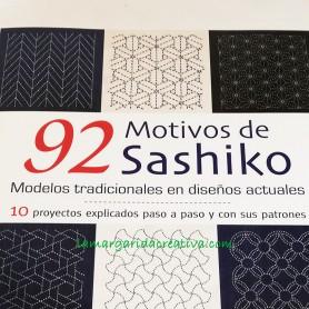 Libro patchwork  92 Motivos de sashiko lamargaridacreativa 2