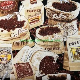 Tela patchwork cocina Coffe lamargaridacreativa 5