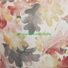 Tela patchwork estampada centenary collection hojas lamargaridacreativa 5