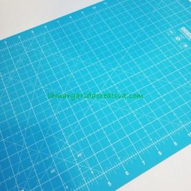 Base corte patchwork ideas azul 30x45 lamargaridacreativa