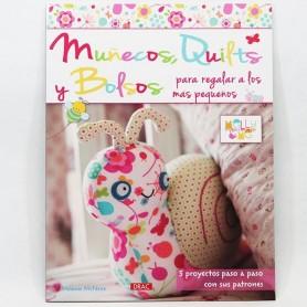 Libro patchwork Muñecos, quilts y bolsos para regalar a los más pequeños