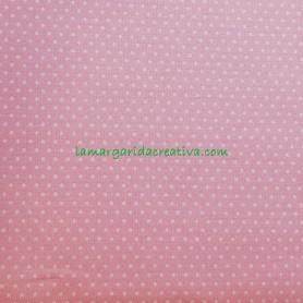 Tela patchwork mini topo fondo rosa lamargaridacreativa