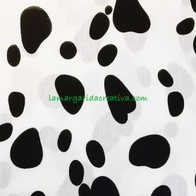 Tela patchwork animales dalmata lamargaridacreativa 3