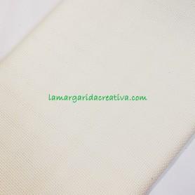 Tela punto cruz aida panamá blanca 14 hilos en merceria online lamargaridacreativa