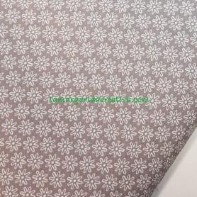 Tela patchwork estampada asteríscos gris lamargaridacreativa 2