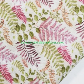Tela patchwork estampada algodón floral petit thuret lamargaridacreativa