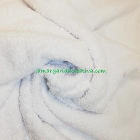 Tejido rizo toalla blanco 2