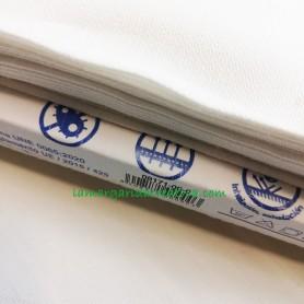 Tela hidrófuga homologada blanca en lamargaridacreativa 4