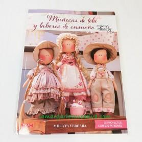 Libro novedad Muñecas de tela y labores de ensueño Millyta Vergara 5
