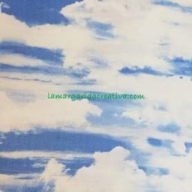 Tela patchwork naturaleza heaven cielo 3