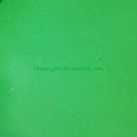 Fieltro para manualidades color verde en la tienda online lamargaridacreativa 2
