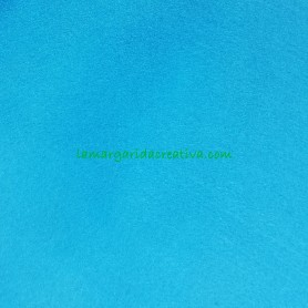 Fieltro para manualidades color azul en la tienda online lamargaridacreativa 3
