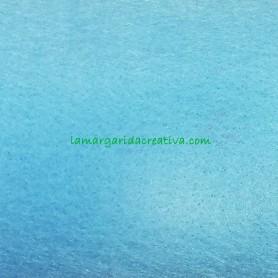 Fieltro para manualidades color azul clarito en la tienda online lamargaridacreativa 2