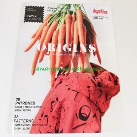 Revista katia Origins patrones en la margaridacreativa