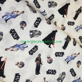 Tela algodón Star Wars licencia  en lamargaridacreativa 3