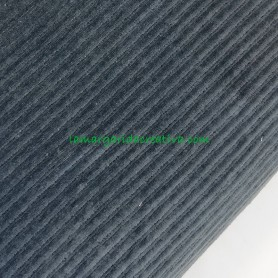 Tejido sudadera pana gruesa elástica gris marengo en lamargaridacreativa