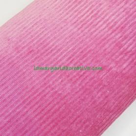 Tejido sudadera pana gruesa elástica rosa viola en lamargaridacreativa