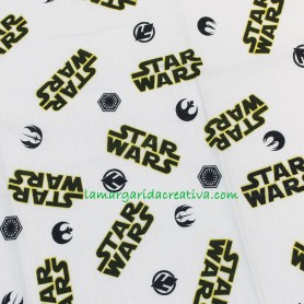 Tela Fat quarter saga star wars original film licencia en lamargaridacreativa 3