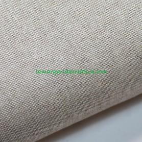 Tela patchwork rustic natural loneta algodón