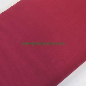 Tela punto jersey punto camiseta elástica granate en lamargaridacreativa