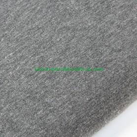 Tela punto jersey punto camiseta elástica gris medio  en lamargaridacreativa 3
